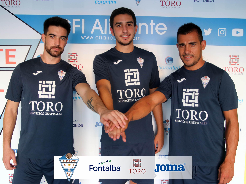 Rafita, Jaume Díaz y Borja se incorporan al CFI Alicante
