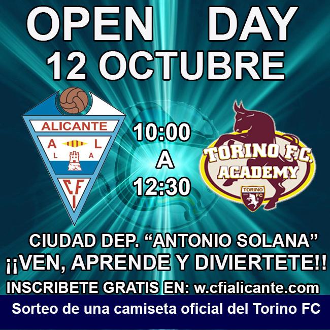 """""""OPEN DAY""""  con técnicos del Torino FC."""