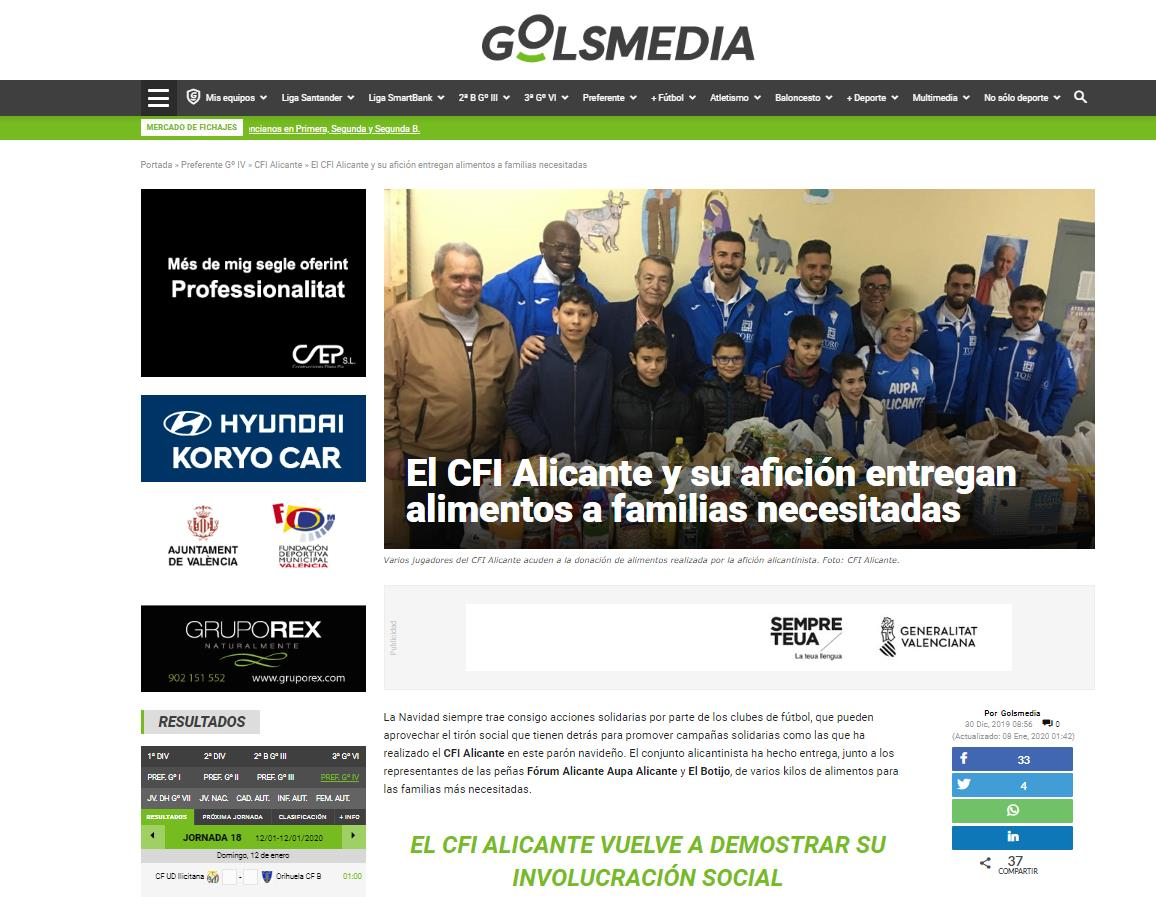 El CFI Alicante social