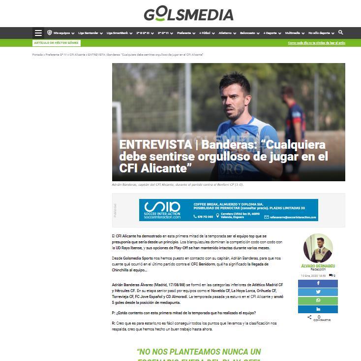 Entrevista Adri Banderas