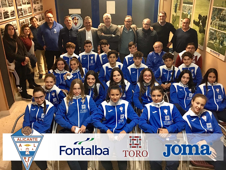 sdsEl CFI Alicante potenciará los valores entre los deportistas de la base