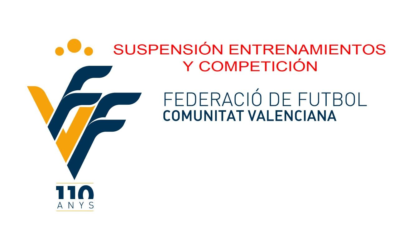 COMUNICADO OFICIAL – La FFCV suspende competiciones dos semanas por la crisis del COVID-19