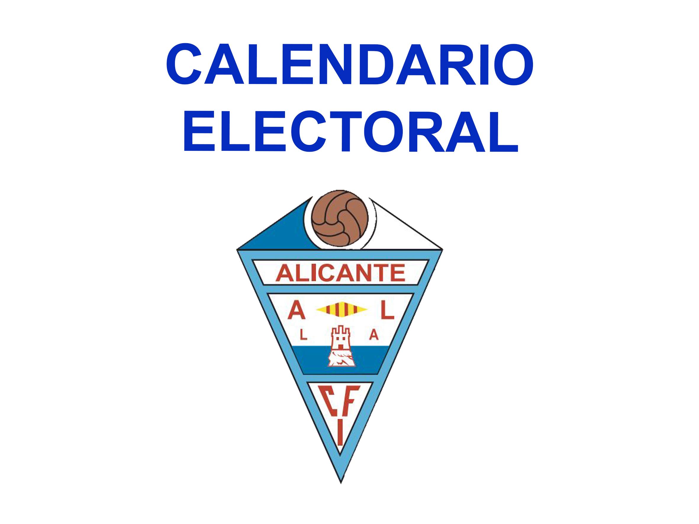 Convocatoria proceso electoral