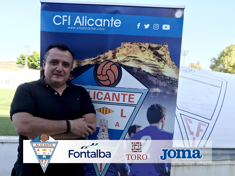 Javier López, asume la coordinación del fútbol 11 del CFI Alicante