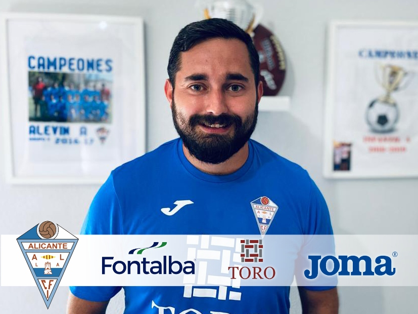El Fútbol 8 del CFI Alicante, estará coordinado por Sergio Montoya