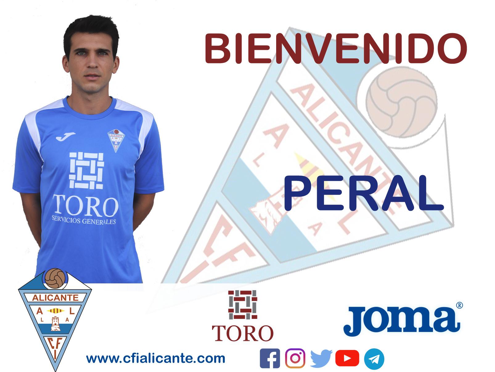 """""""Peral"""" firma con el CFI Alicante"""