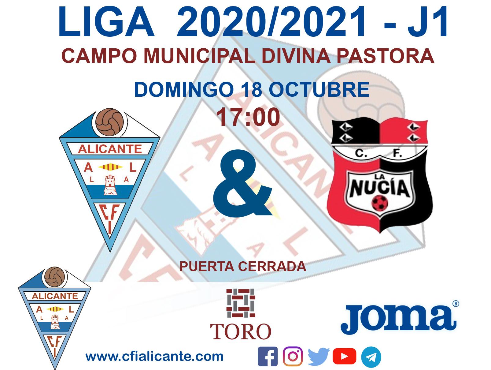 Primera jornada de liga, contra La Nucia B en el campo de Divina Pastora