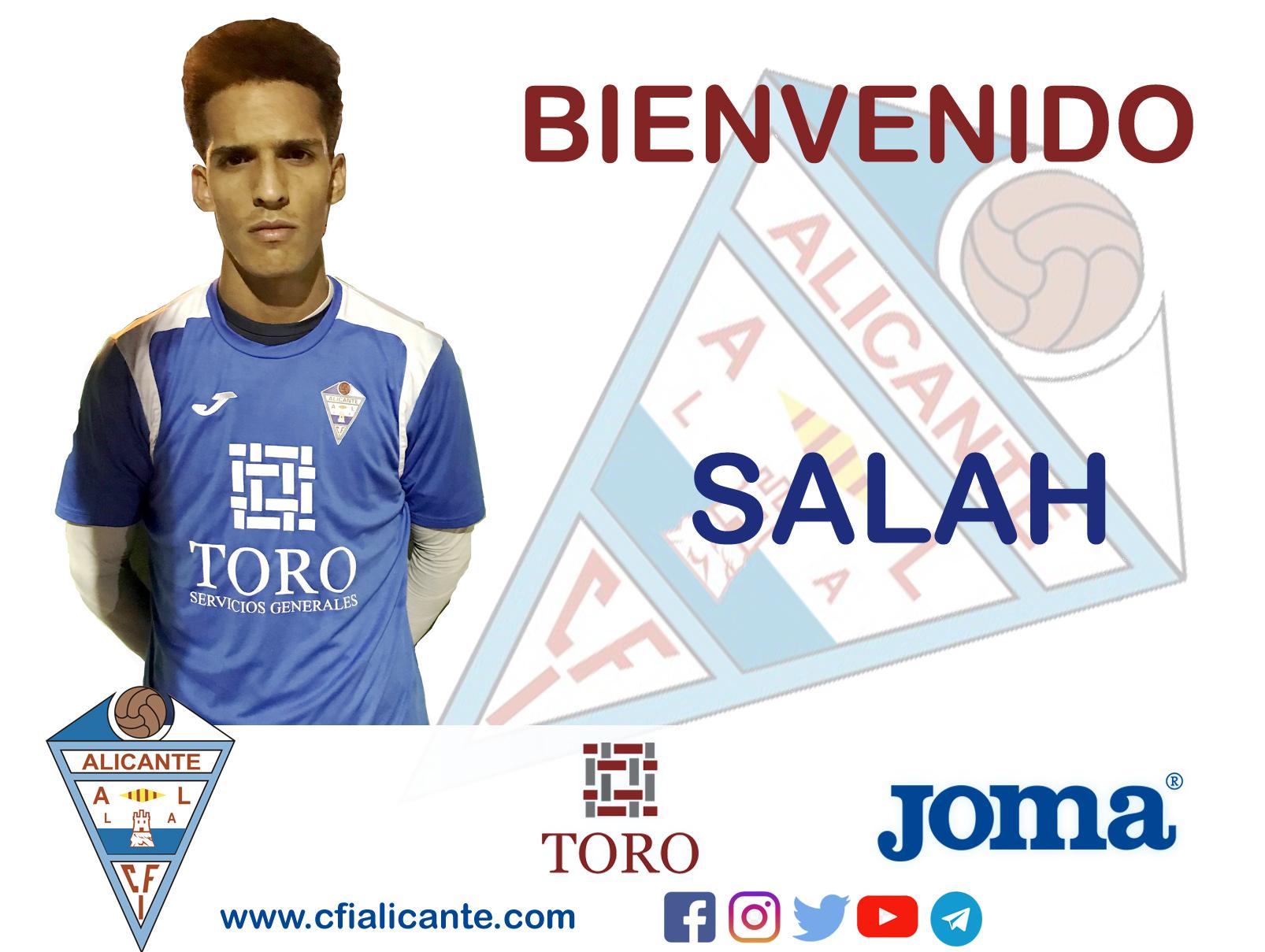 """El joven delantero """"Salah"""" se incorpora a la plantilla del CFI Alicante"""