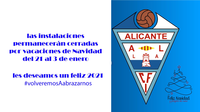 ¡El CFI Alicante os desea Feliz Navidad!