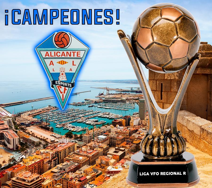 sdsCFI Alicante eSports, suma un nuevo campeonato de liga a su palmarés