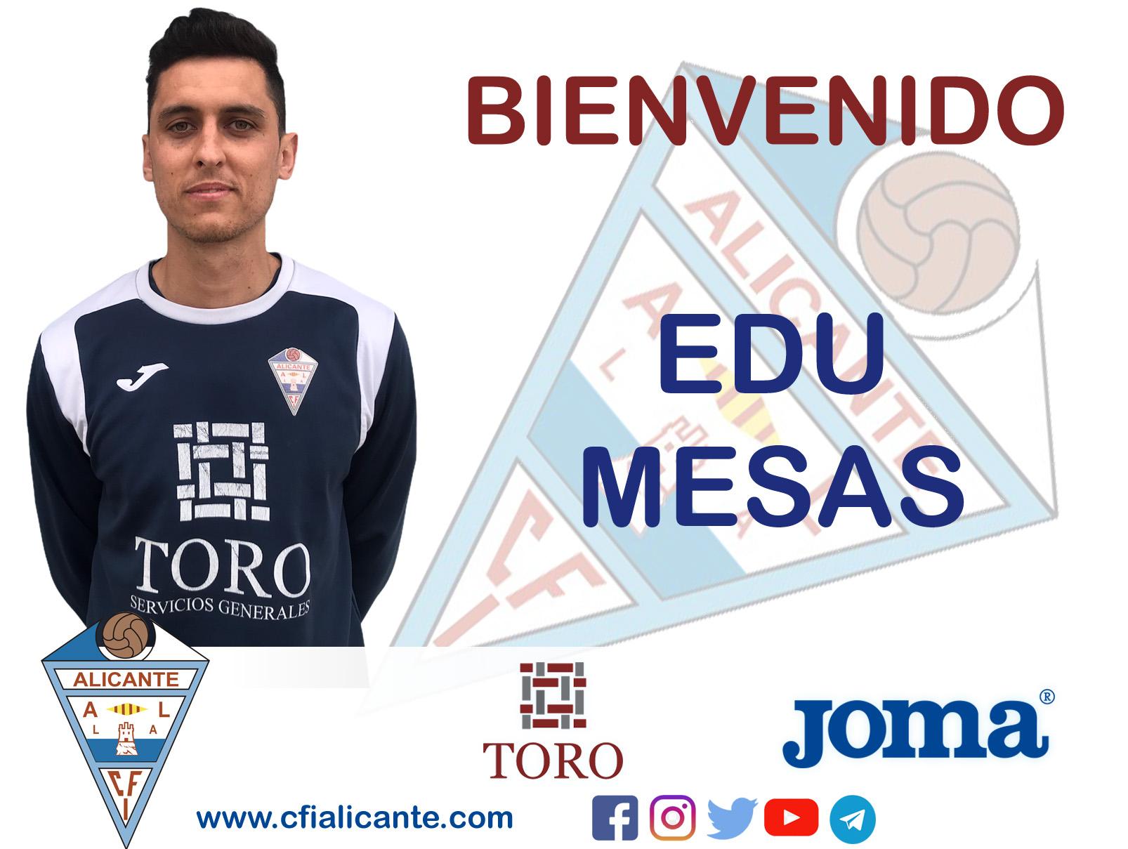 sdsEdu Mesas, se incorporaal CFI Alicante