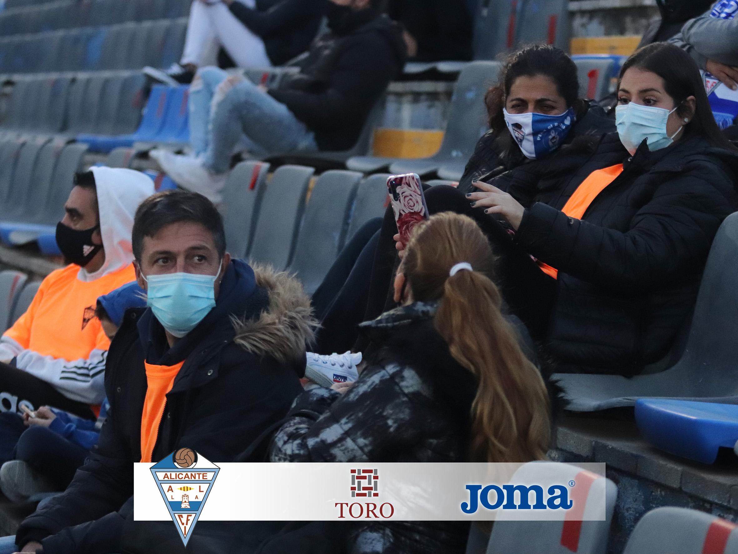El CFI Alicante vs CD Jávea se jugará con público, con las medidas sanitaras indicadas por las autoridades.
