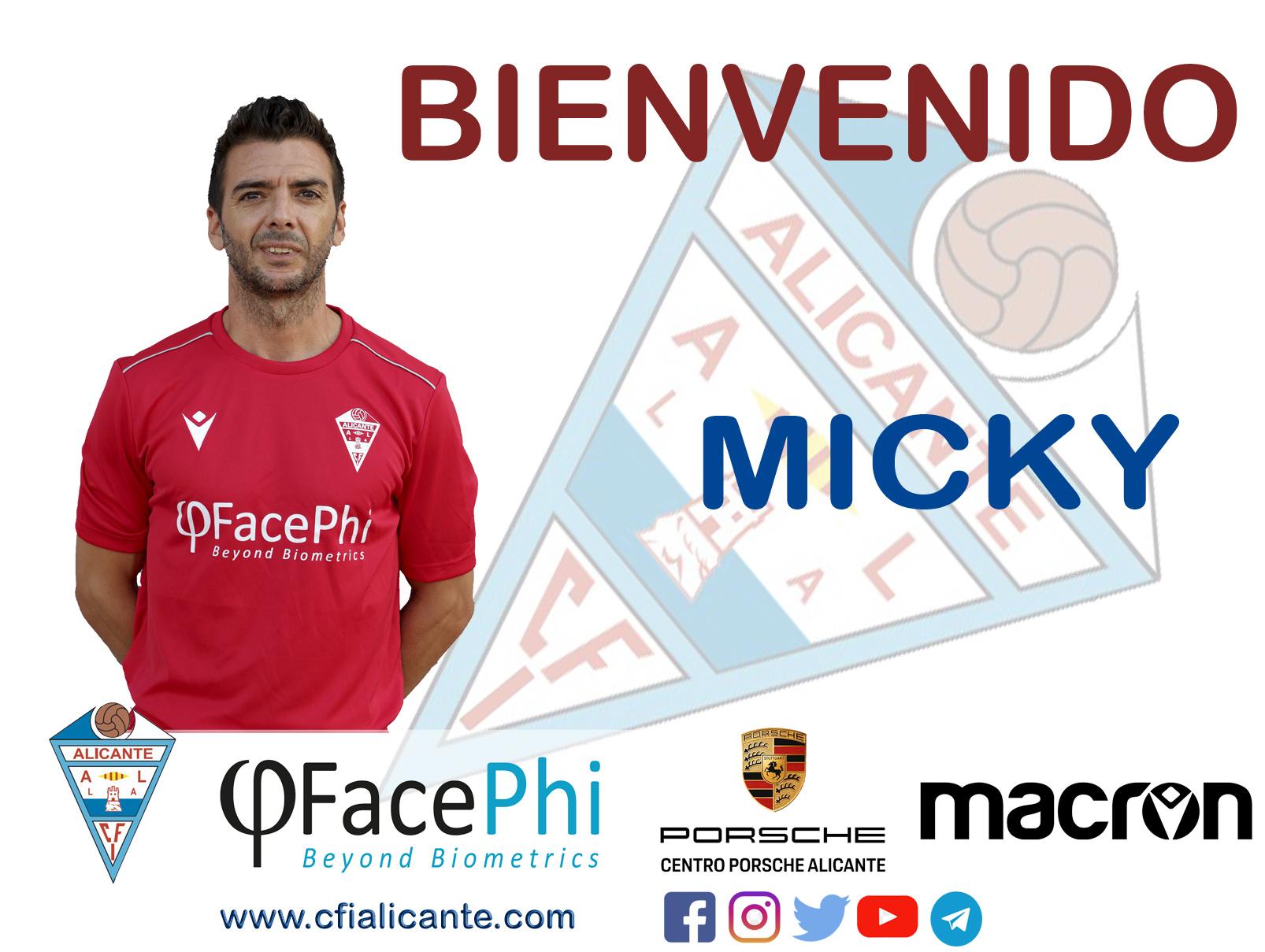 El CFI Alicante apuesta por Micky