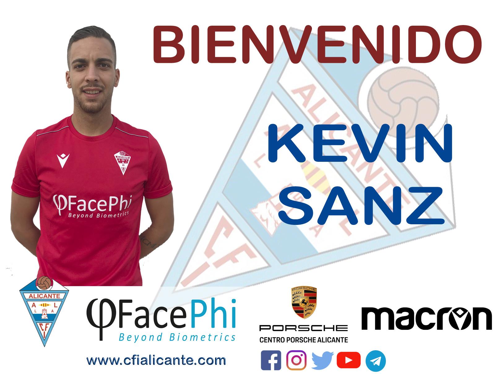 Kevin Sanz, se incorpora  la plantilla celeste