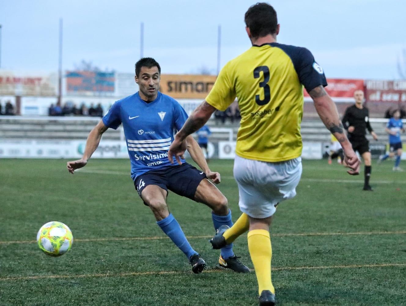 CF IGUALADA 0–3 UE CASTELLDEFELS