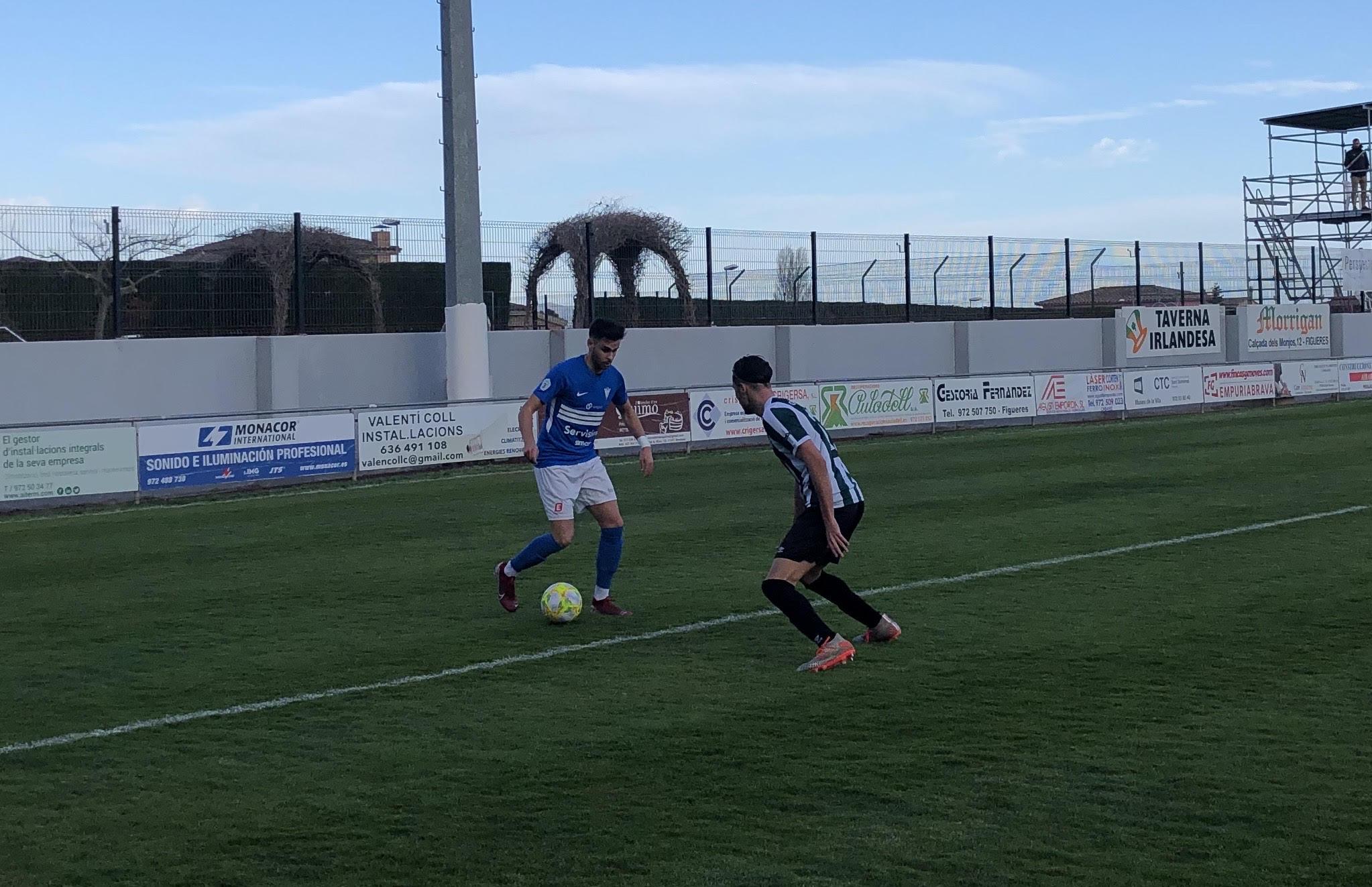 CF PERALADA 1-0 CF IGUALADA