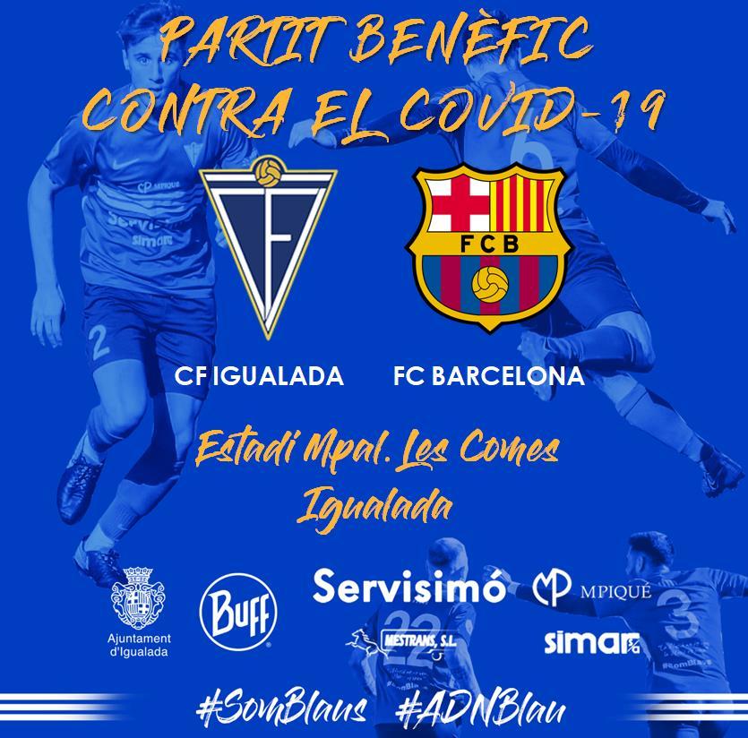 EL FC BARCELONA VISITARÀ LES COMES PER LLUITAR CONTRA EL COVID-19