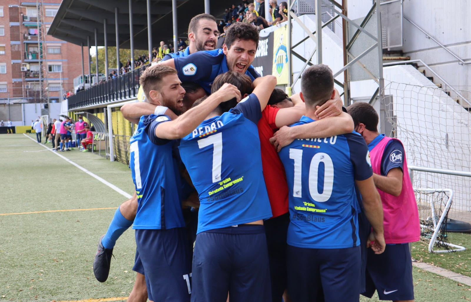 CF MONTAÑESA 0–2 CF IGUALADA