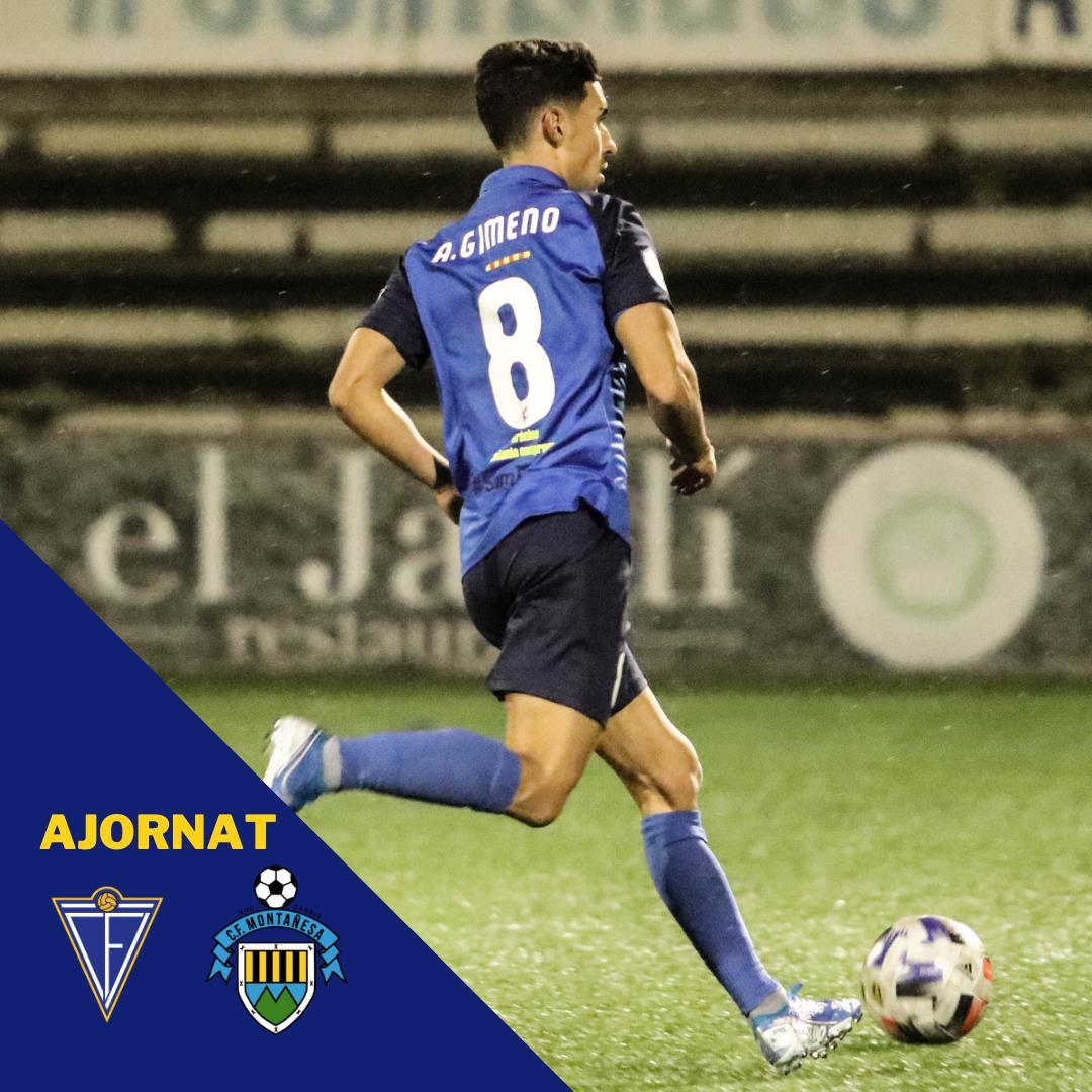 S'AJORNA EL CF IGUALADA - CF MONTAÑESA