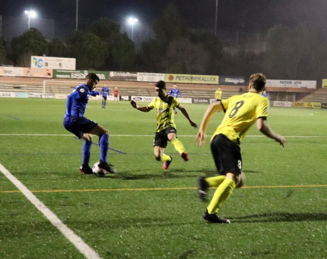 sdsCF IGUALADA 0-0 CF MONTAÑESA