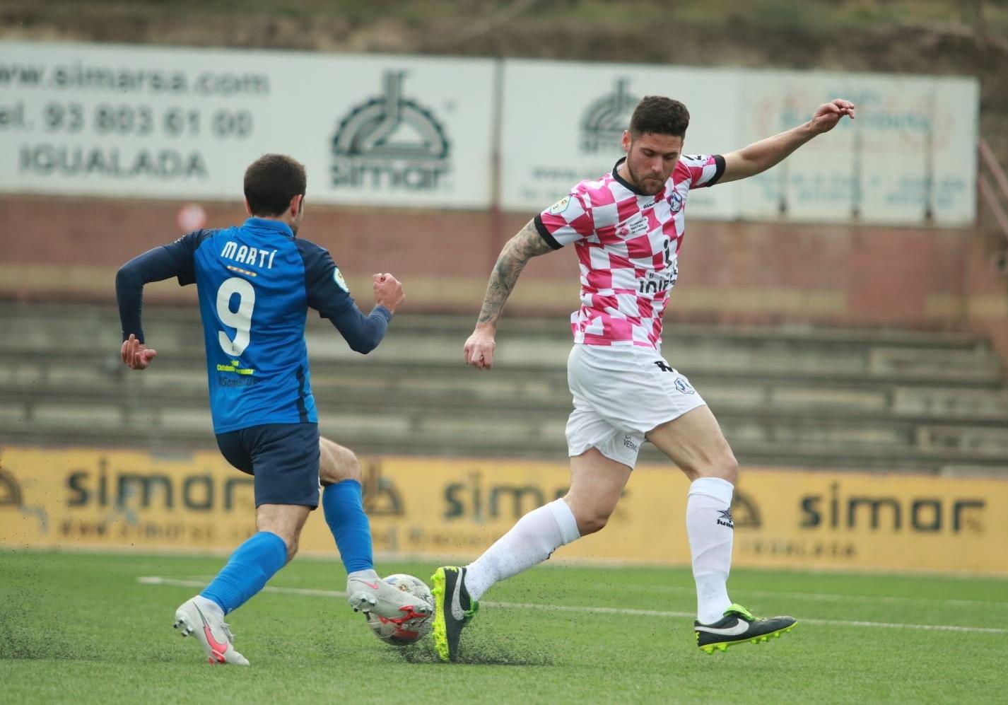 CF IGUALADA 1–2 SANTFELIUENC FC