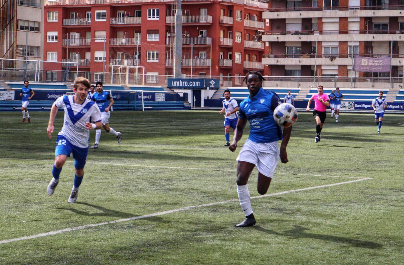 CE EUROPA 3–1 CF IGUALADA