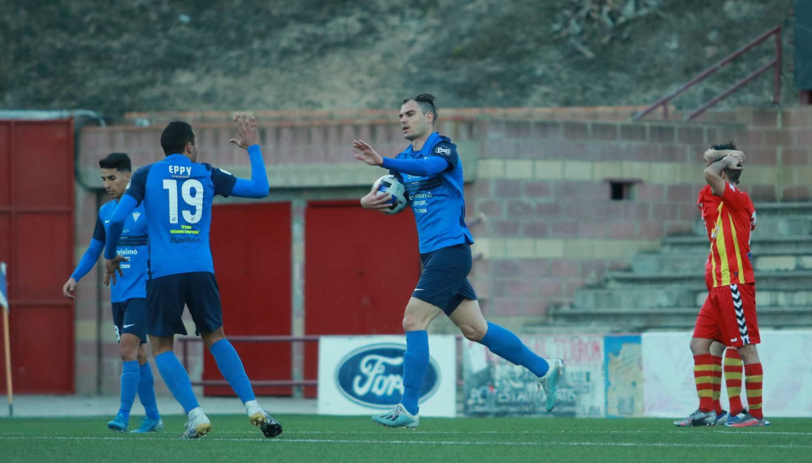 CF IGUALADA 1-1 FC VILAFRANCA