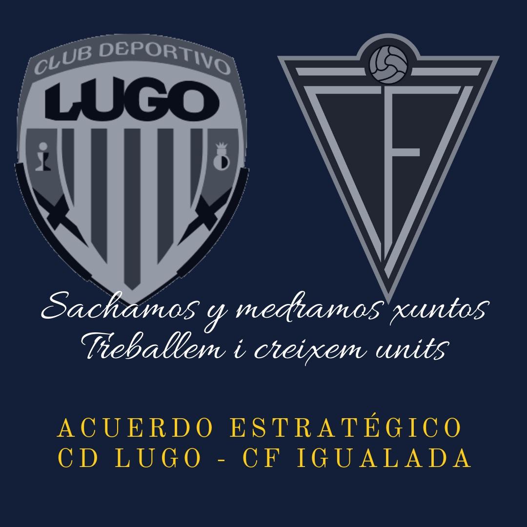 ACUERDO ESTRATÉGICO CD LUGO-CF IGUALADA