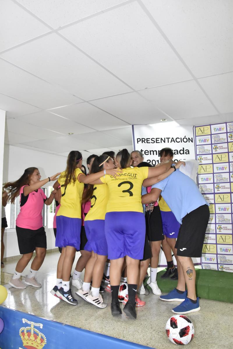 ¡¡¡Ivo Ivo Ivo abrazo colectivo!!!, un clásico ya entre nuestras chicas