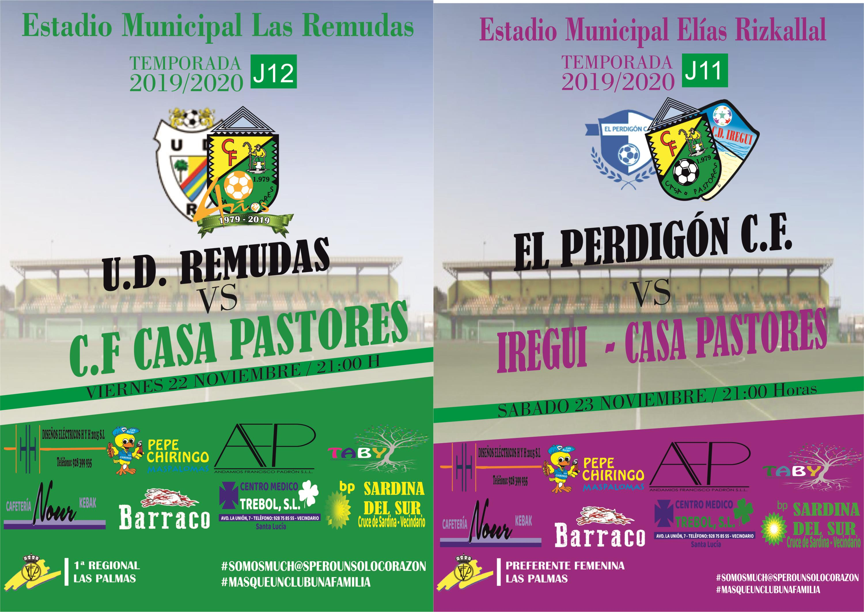 sdsNueva Jornada para los equipos del C.F Casa Pastores Iregui