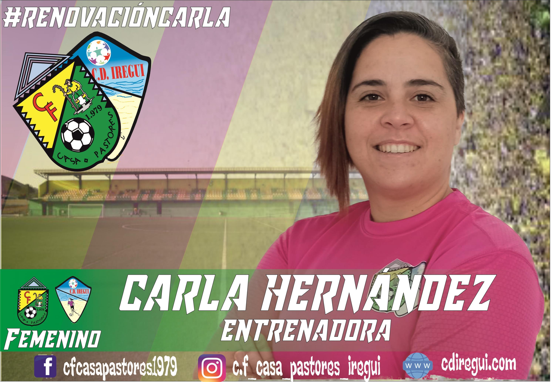 Renovación Carlas Hernández en el Femenino