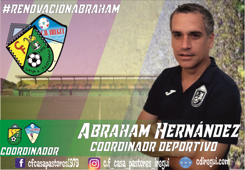 Renovación Abraham Hernández Coordinador