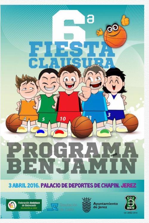Fiesta Clausura Programa Benjamín