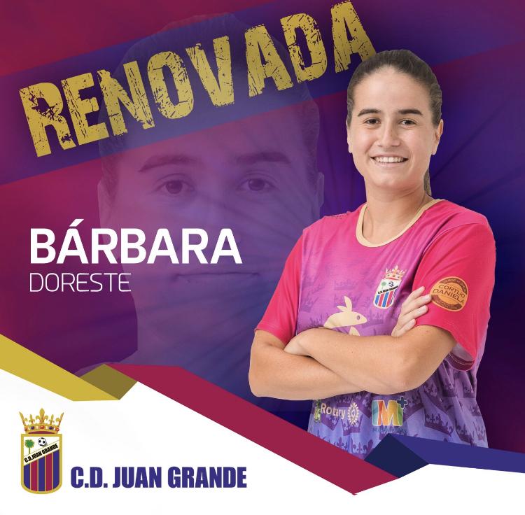 Renovación de Bárbara Doreste