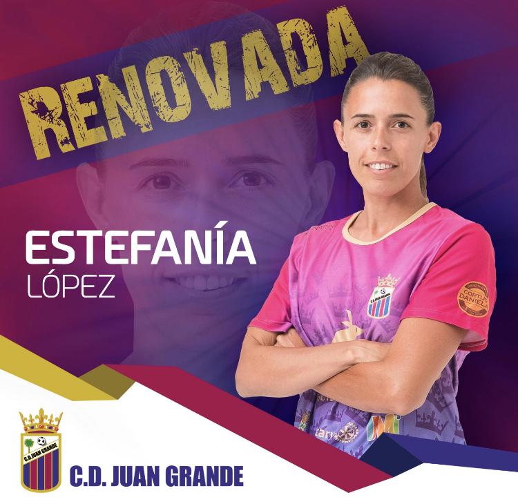 Renovación Estefanía López