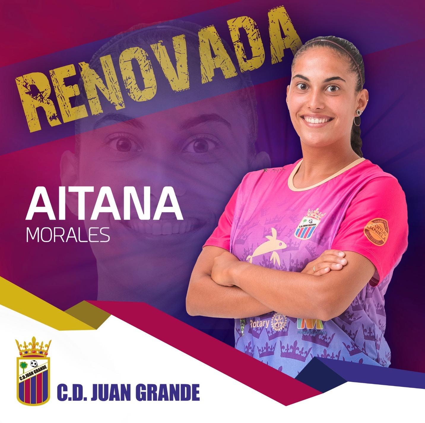 Renovación Aitana Morales