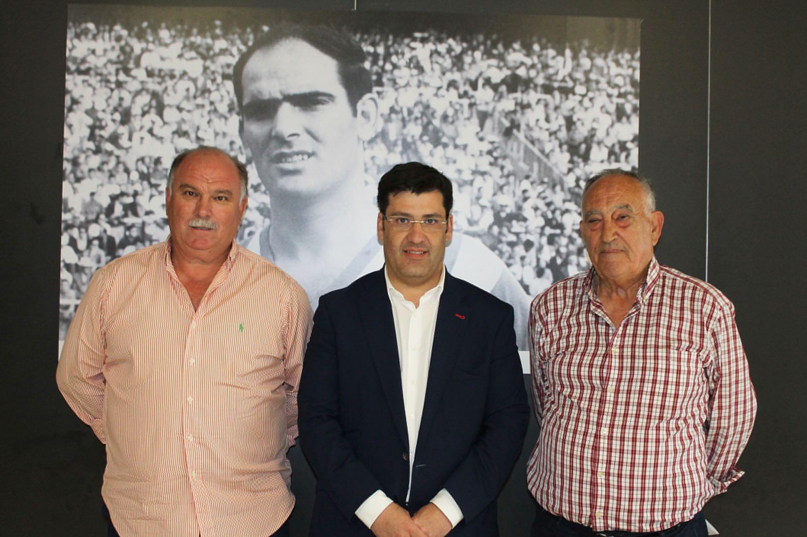CD Juanín y Diego y Córdoba CF firman un acuerdo de colaboración