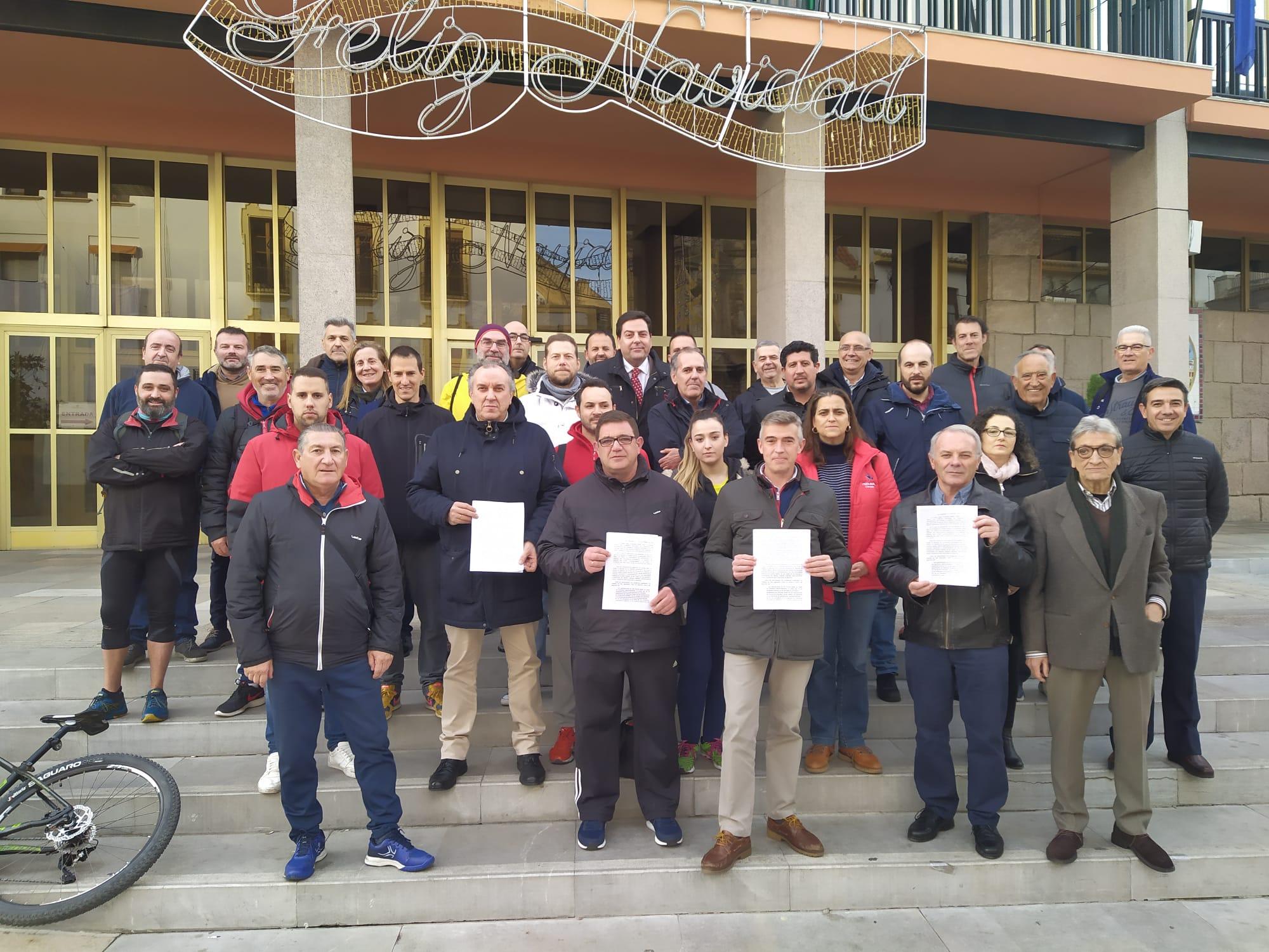 Manifiesto clubes afectados por el impago de las subvenciones municipales