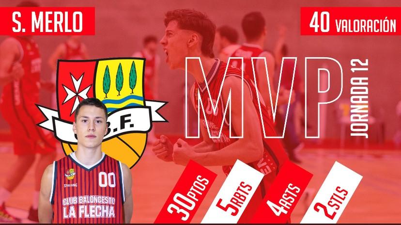 SILVANO MERLO MVP JORNADA 12