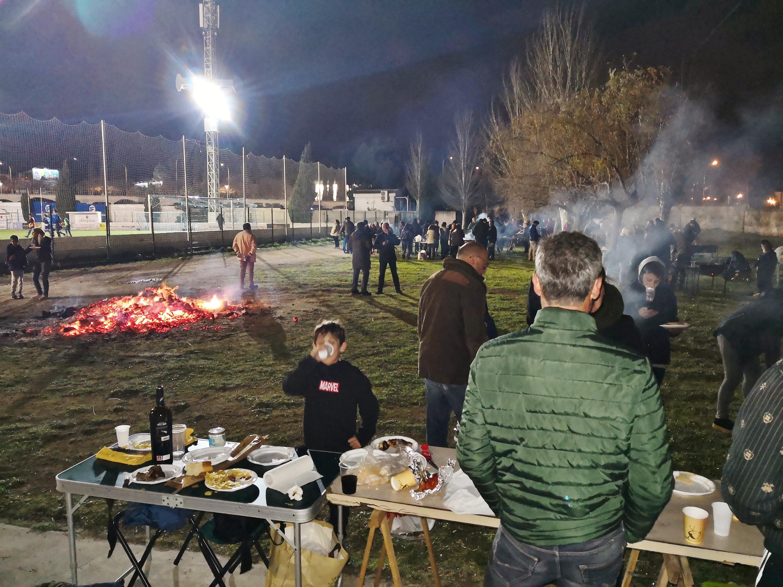Gran ambiente en la Revetlla de Sant Sebastià celebrada el pasado día 25 de enero