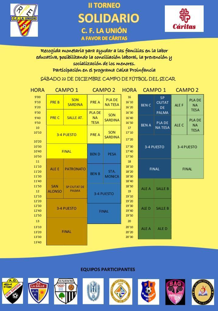 II Torneo Solidario CF La Union.