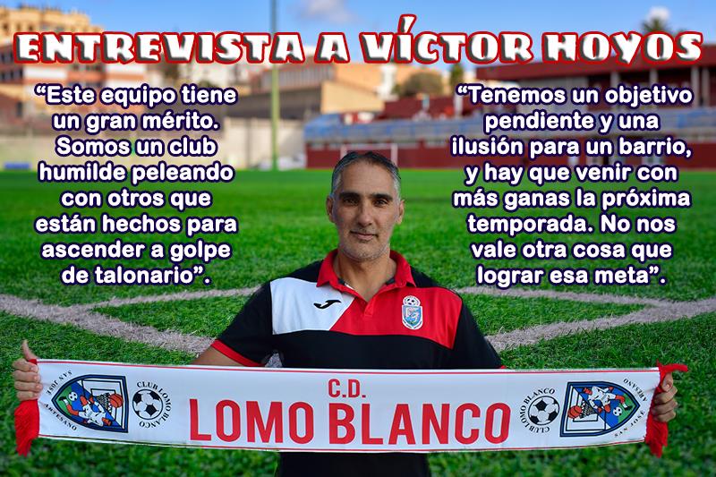 Entrevista a Víctor Hoyos, entrenador de nuestro equipo regional
