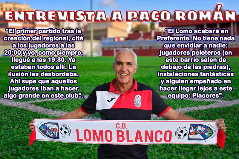 Entrevista a Paco Román, entrenador de nuestro equipo regional