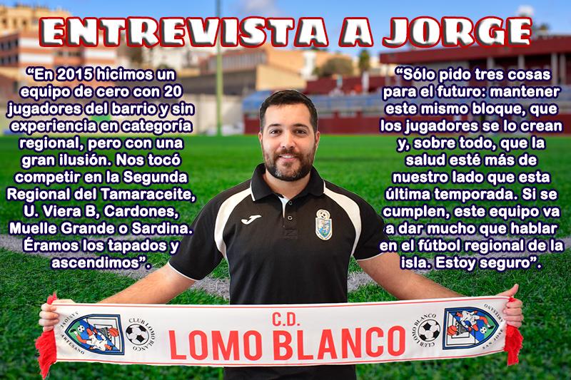 Entrevista a Jorge Román, ayudante de nuestro equipo regional