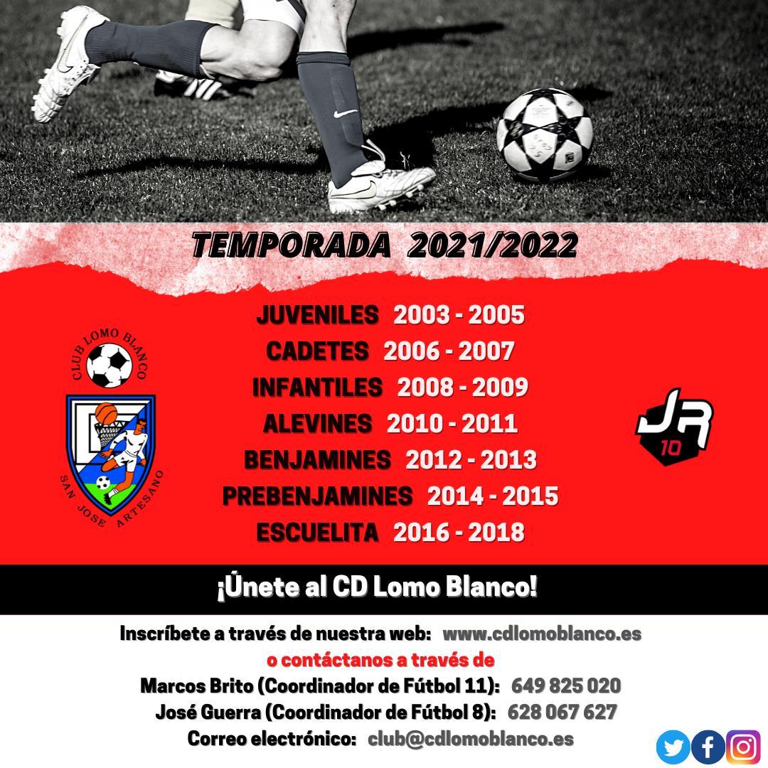 INICIO DE LA TEMPORADA 2021/2022