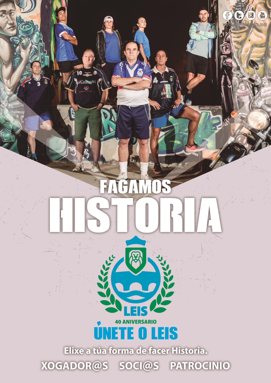 Únete o Leis #FagamosHistoria #Leis40Aniversario