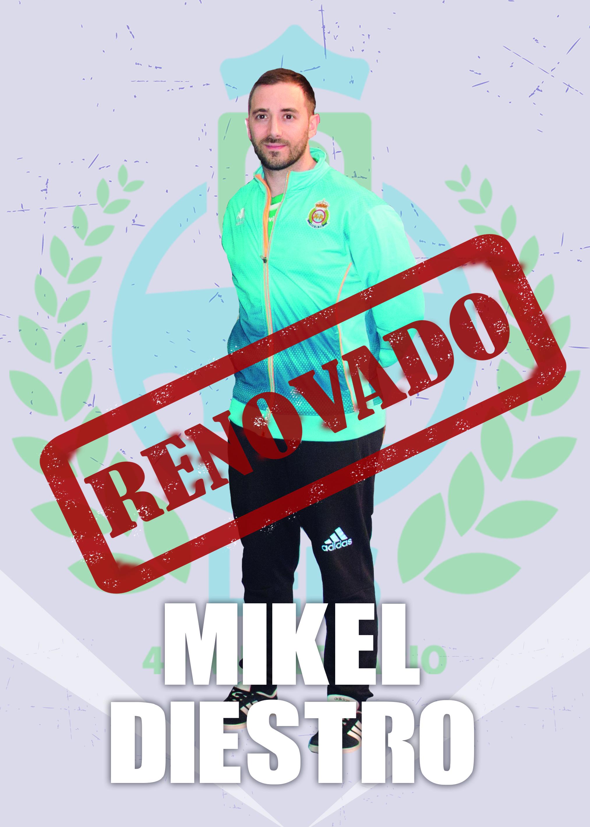 Renovación Mikel Diestro