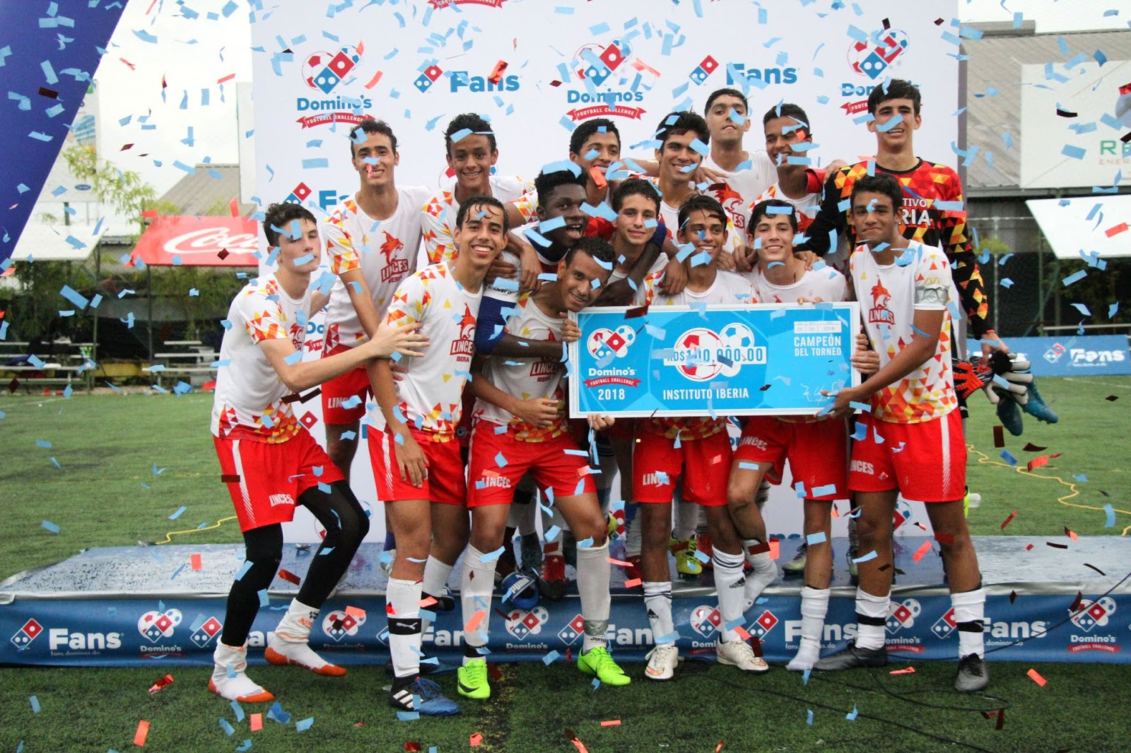 Instituto Iberia campeón del Domino´s Football Challenge