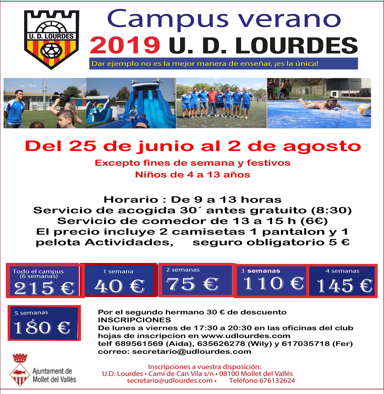 REUNIÓN CAMPUS DE VERANO 2019