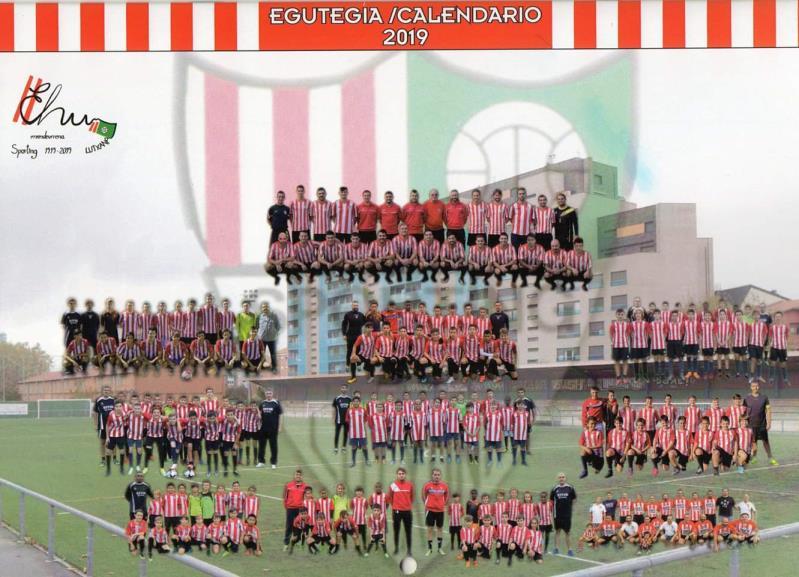 Calendario 2019 Centenario